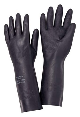 Gants de protection chimique Ansell Extra, cat. III, taille 10, 12 paires